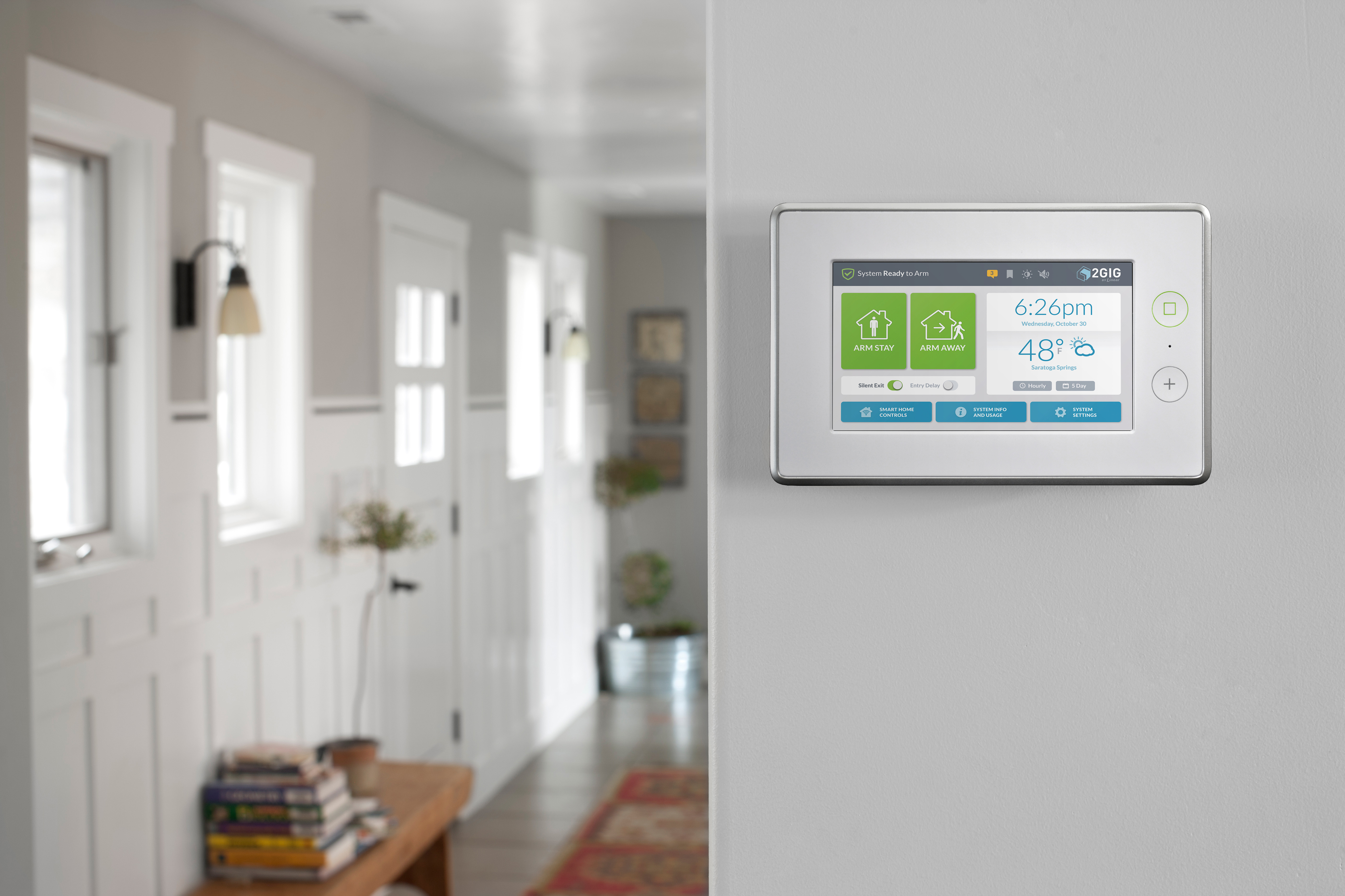Security Alarm, Home Automation